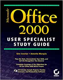Microsoft Office 2000 Projects Book to accompany MS Office 2000 Enhanced Editions