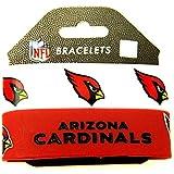 NFL Silicone Rubber Bracelet Set, 2-Pack-Old Logo