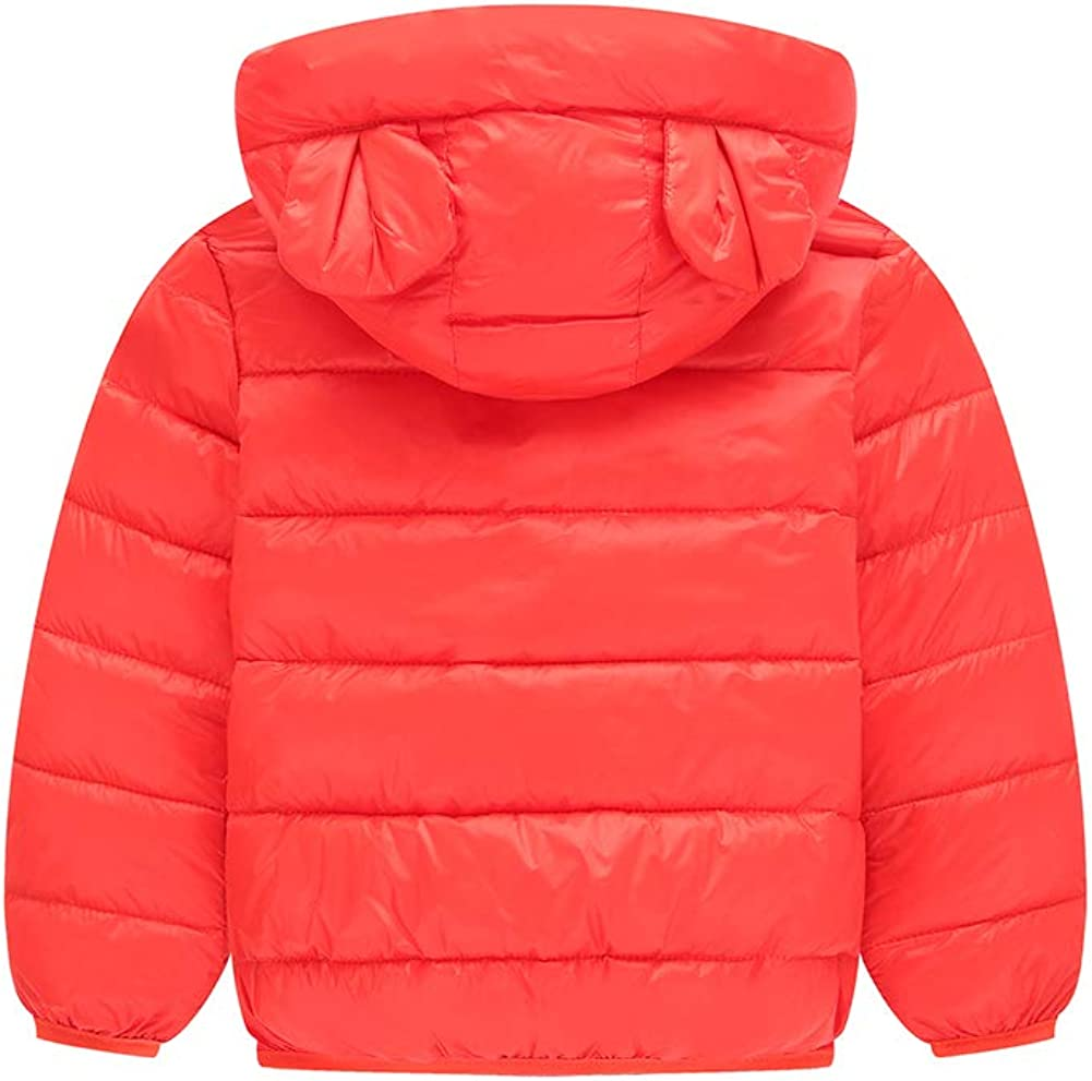 MAOMAHREWW Unisex Children Kids Light Warm Down Coat Winter Jacket Snowsuit