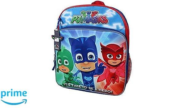 Disney Junior PJ máscaras Owlette, Gekko y Catboy su tiempo para ser un héroe. 14 BA...: Amazon.es: Ropa y accesorios