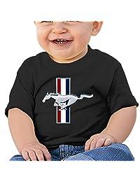 DOfunn Unisex-Baby/Toddler/Infant Ford Mustang Logo T-Shirts