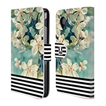 Head Case Designs Floral Stripes Trend Mix Leather Book Wallet Case Cover For LG V10