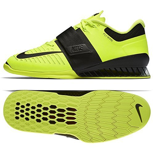 53932d896d86e Nike Men's Romaleos 3 Training Shoe, Volt/Black, Size 12
