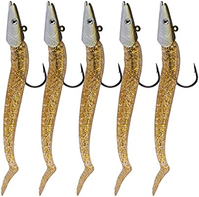 5 cebos de pesca QualyQualy para agua dulce, de 21 g y 12 cm, 5Pcs ...