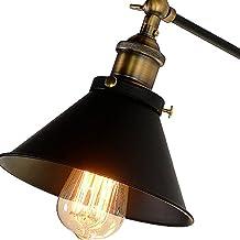 BOHAOYA Vintage Retro Wall Lamp Long Arm Pole Swing Arm Wall Light Sconces Edison bulb (bulbs not included)