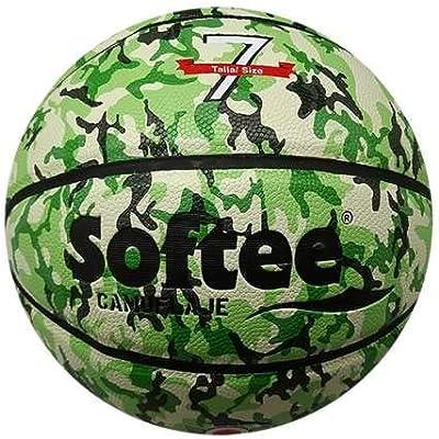 Balon Baloncesto Cuero Softee Camuflaje - Talla 7 - Color Verde ...