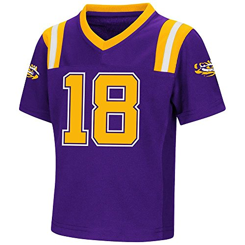 - Colosseum Toddler LSU Tigers Football Jersey - 2T
