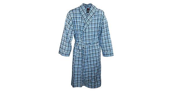 Hanes - Camiseta de pijama - Básico - para hombre Azul Blue Plaid: Amazon.es: Ropa y accesorios