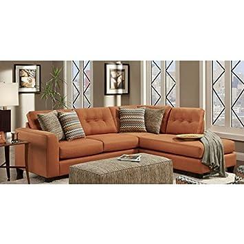 Amazon.com: Chelsea Home Furniture Phoenix 2-Piece Sectional ...