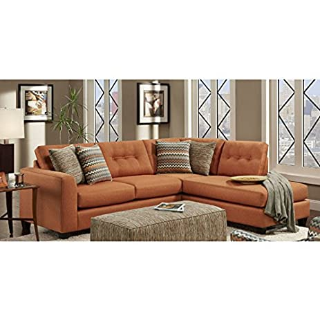 chelsea home furniture phoenix 2piece sectional fandango flame with reaction hazekinetic