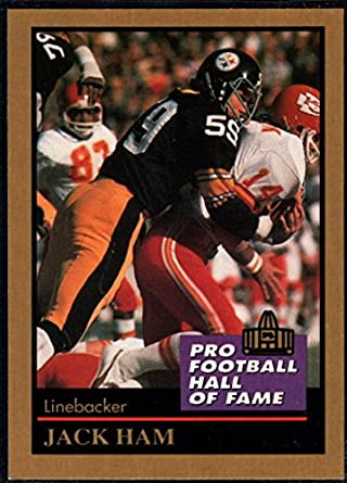 e1b90c206a5 Amazon.com  Football NFL 1991 ENOR Pro Football HOF  56 Jack Ham NM ...