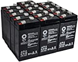 SPS Brand 6V 3.2 Ah Replacement battery for Baxter Healthcare 521 CARDIAC OUTPUT COMPUTER (16 PACK)