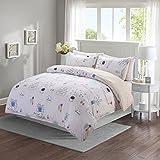 Duvet Cover Set for Child Kids, Lovely Bed Set, Reversible Design, White King (''104 x 90''),3 Piece (1 Duvet Cover + 2 Pillow Shams), Soft and Durable