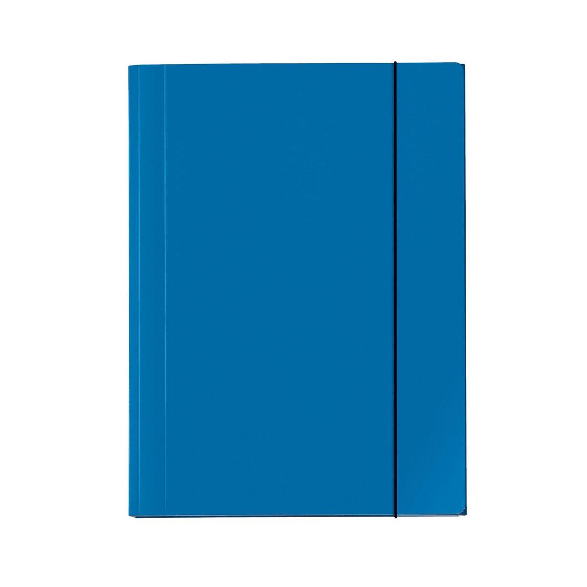 Veloflex 4432351 Velocolor - Cartella portadocumenti, formato DIN A3, colore: Blu Iden Nürnberg GmbH
