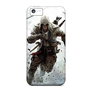 ElPBobN5932MvQrq Case Cover Protector For Iphone 5c Assassin's Creed 3 2012 Game Case