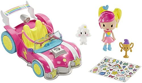 Barbie Mattel DTW18 – Die Videospiel-Heldin Pixel-Mobil Set mit Puppe