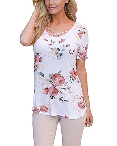 Walant Womens Floral Printed T Shirt