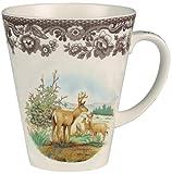 british american mug - Spode Woodland American Wildlife Mule Deer Mug