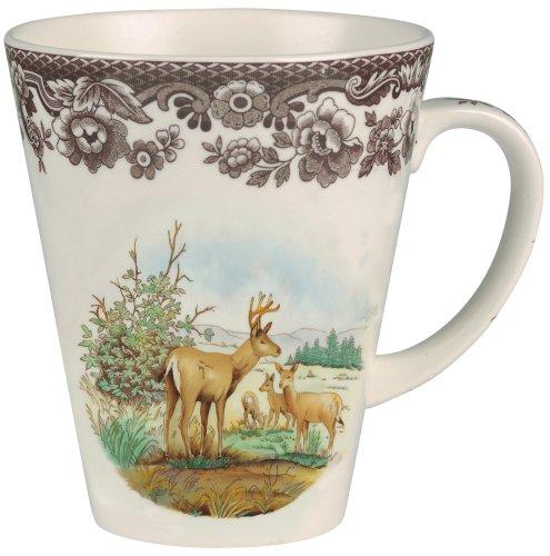 Spode Woodland American Wildlife Mule Deer Mug