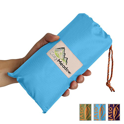outdoor-blanket-blue-for-festival-picnic-beach-parade-music-carnival-travel-packable-waterproof-sand