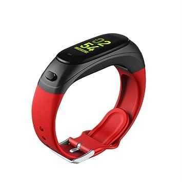 GYFKK Reloj Inteligente Smartwatch Bluetooth Auriculares 2-en-1 ...