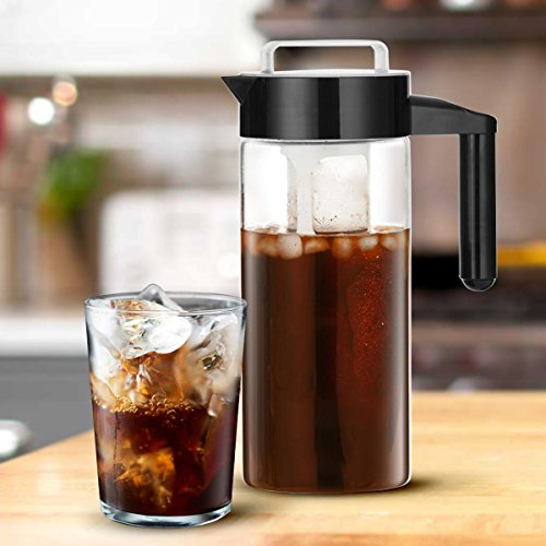 Chilly Java Cold Brew Glass Coffee Maker Pitcher, Over 1 Quart Capacity (5+ Servings) by Chilly Java (Image #2)