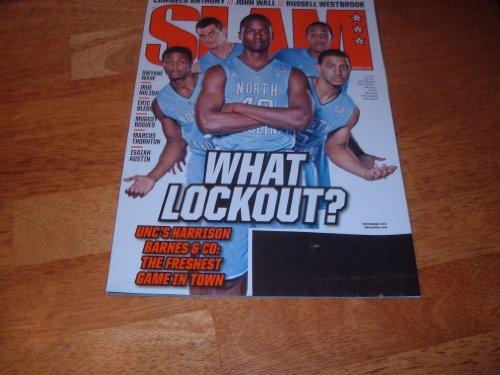 Slam Magazine - December 2011 - NBA - UNC - University of North Carolina Tar Heels - Carmelo Anthony - John Wall - Russell Westbrook - Dwayne Wade Nba Slam Magazine