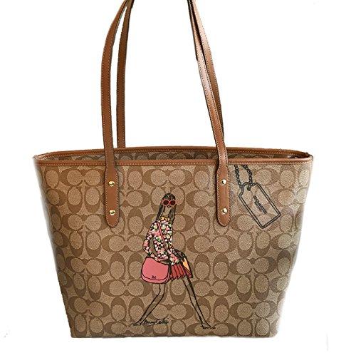 coach-signature-city-zip-tote-bag-handbag-edition-limited-inspired-by-bonnie-cashin