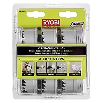 Ryobi A10DK42 4 in. Replacement Plugs for Drywall Repair Kit
