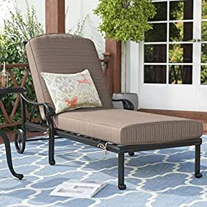 Amazon Com Sparta Sling Chaise Lounge Patio Pool Sun