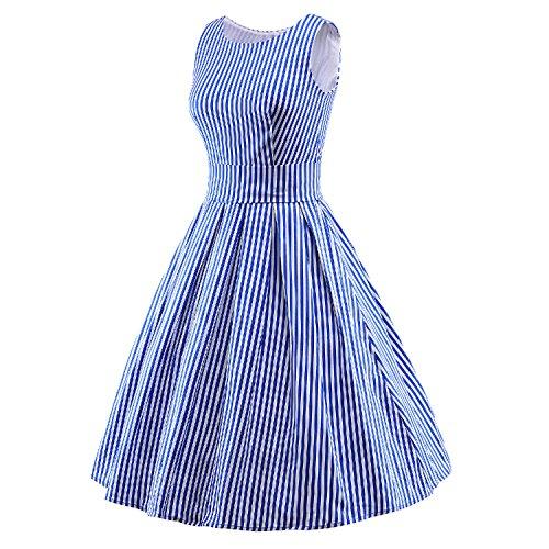 Luouse - Vestido - para mujer 2bluestripe