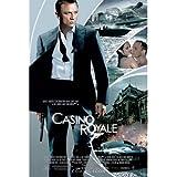 (24x36) Casino Royale Movie (Action Collage, Daniel Craig as James Bond) Poster Print