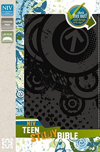 Read Online NIV, Teen Study Bible, Imitation Leather, Gray pdf