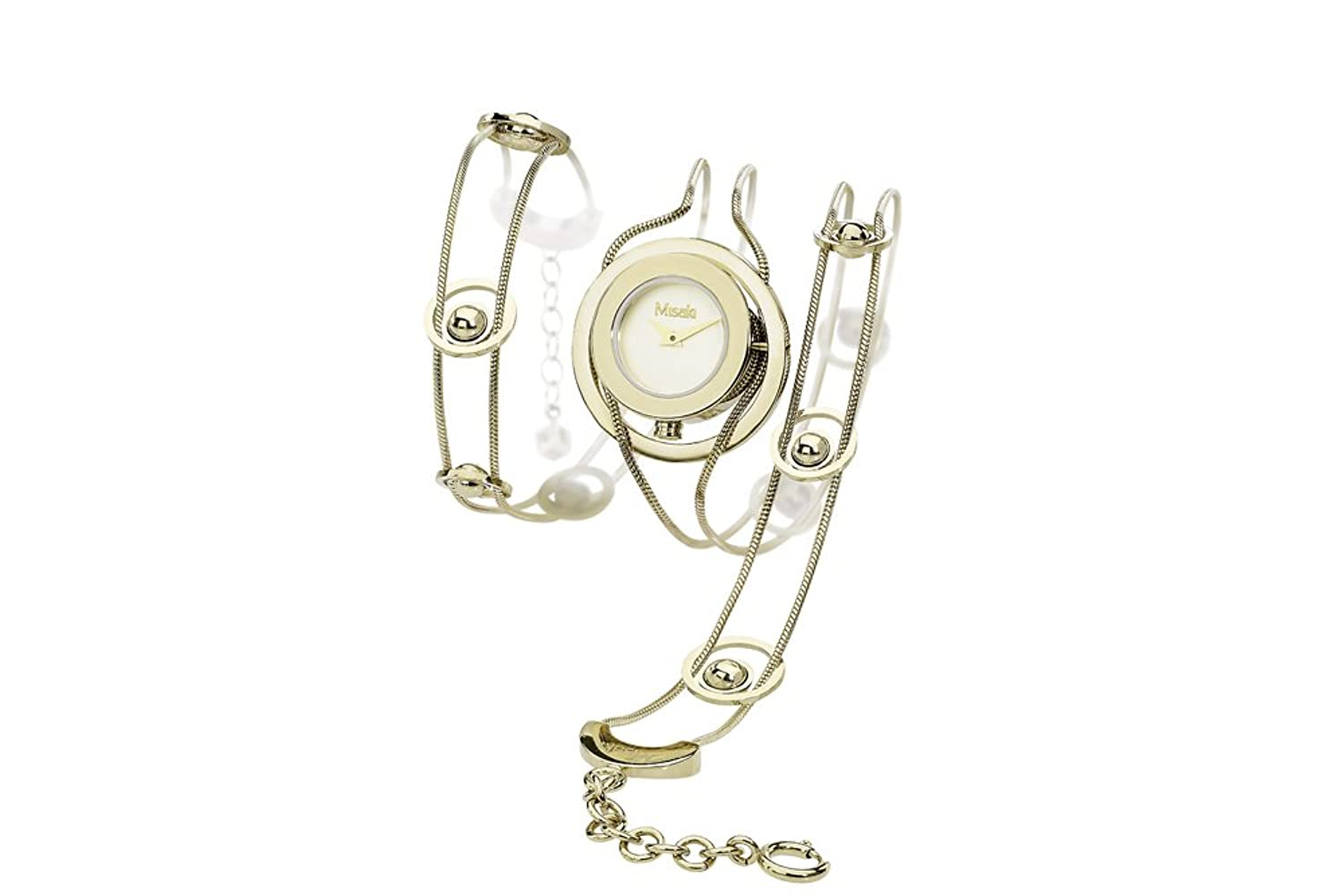 two watch watches dial misaki ladies silver dkny tone stanhope
