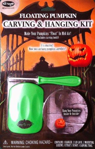 Floating Pumpkin Hanger & Carving - Pillar Pumpkin