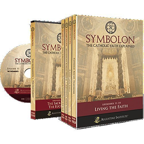 SYMBOLON:VOL II LIVING THE FAITH /EPISODES 11-20*PRESENTED BY DR. EDWARD SRI/AUGUSTINE INSTITUTE 5-DVD SET by (2014-01-01)