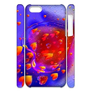 XOXOX Phone case Of Beautiful heart-shaped Cover Case For Iphone 4/4s