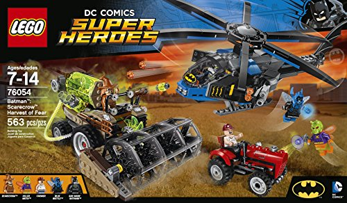 LEGO Super Heroes 76054 Batman: Scarecrow Harvest of Fear Building Kit (563 Piece) at Gotham City Store