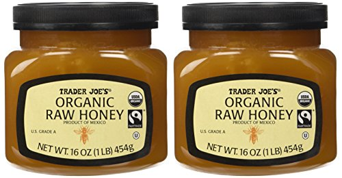 Trader Joe's Organic & Fair Trade Raw Honey (Pack of ()