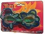 Best Swimways Goggles - Swimways Trolls Swim Goggles Blue Flower and Poppy Review
