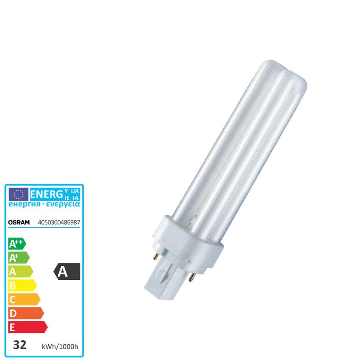 6500k Osram 4Ft 36w T8 Fluorescent Tube Daylight Colour 865