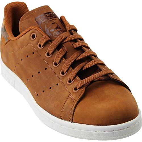 Adidas Menns Originaler Stan Smith Sneaker Brun