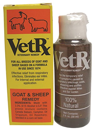 034922 Vetrx Goat & Sheep Remedy, 2 oz