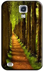 Sangu Hook Pathway Painting Hard Back Shell Case / Cover for Galaxy S4