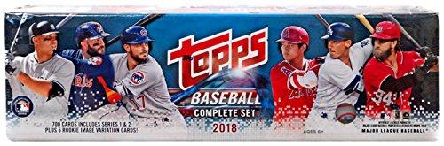 2018 Topps Baseball Factory Sealed Retail Set (705 Cards with 5 Bonus (Set Retail Box)