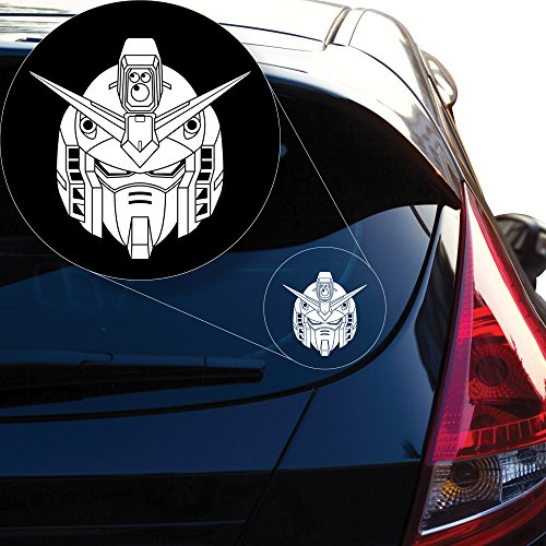 Yoonek Graphics Gundam Wing Decal Sticker for Car Window, Laptop and More # 939 (6