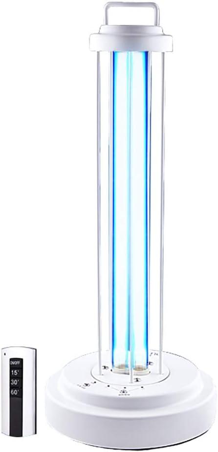 shcc LáMpara De DesinfeccióN UV - Luz Uvc 99% Luz Ultravioleta ...