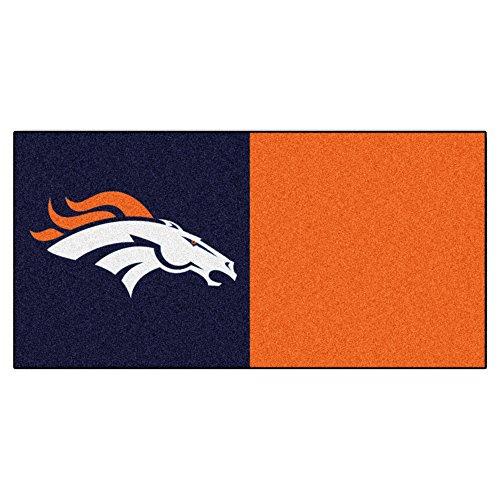 FANMATS NFL Denver Broncos Nylon Face Te - Nfl Carpet Tiles Shopping Results