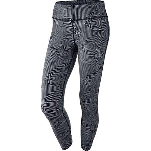 Nike Womens Epic Run Zen Dri-FIT Capri Legging, Black, Large