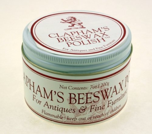 Clapham's Beeswax 870-2008 Beeswax Polish, 7-Ounces by Clapham's Beeswax